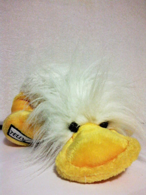 Squishy Toys From The 80s : Other Soft Toys - Telly Quack - soft toy duck from the 80 s game show TELLY FUN QUIZ!! was sold ...
