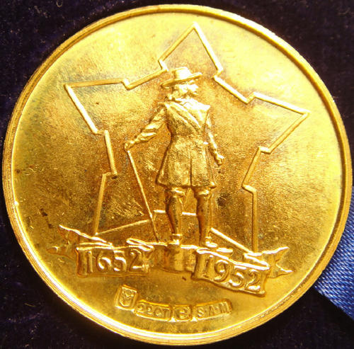 Jan van Riebeeck gold medallion