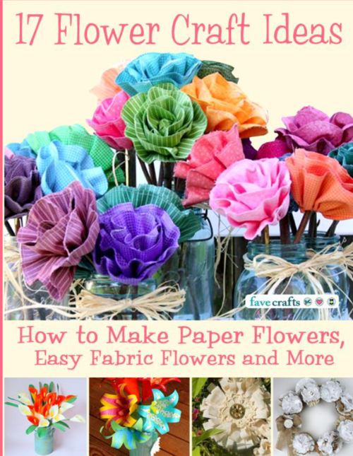 Crafts hobbies 17 flower craft ideas how to make paper for Crafts and hobbies ideas