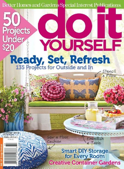 do it yourself summer 2013 ebook magazine. Black Bedroom Furniture Sets. Home Design Ideas