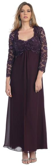 Formal Dresses - Elegant Plus Size Evening Dress. In Stock In Eggplant (4XL) Black (4XL). FREE ...