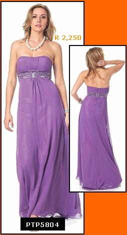Formal Dresses - Elegant Plus Size Chiffon Evening Dress. In Stock In Purple (size 2XL). FREE ...