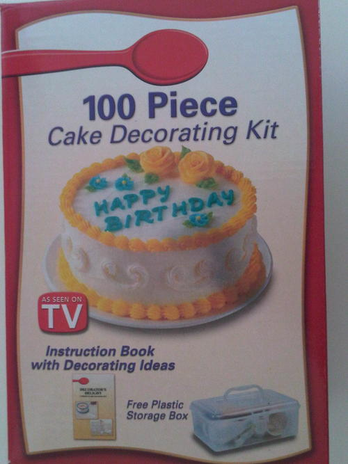 Cake Decorating Kit 100 Piece : Unusual Items - 100 Piece Cake Decorating Set. was sold ...