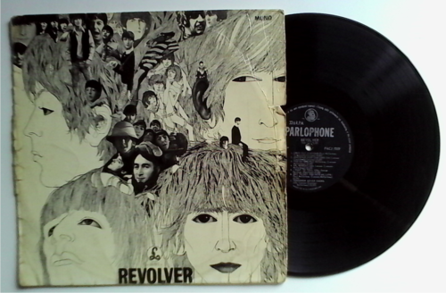 Pop Rock The Beatles Revolver Very Rare First