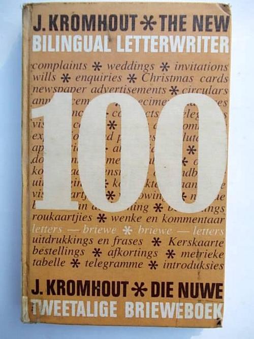 Die nuwe tweetalige brieweboek the new bilingual letterwriter