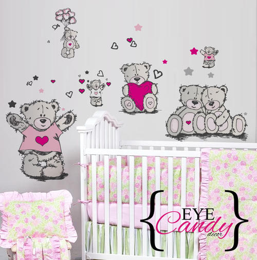other baby tatty teddy girls baby kids wall stickers 17 best images about boeta se kamer on pinterest baby
