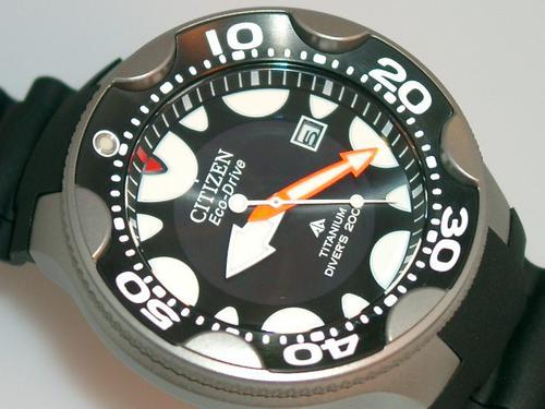 Sports outdoors watches exquisite citizen promaster mens titanium orca eco drive 200m - Citizen titanium dive watch ...