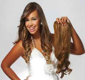 Jessica Clip Hair Extensions 7