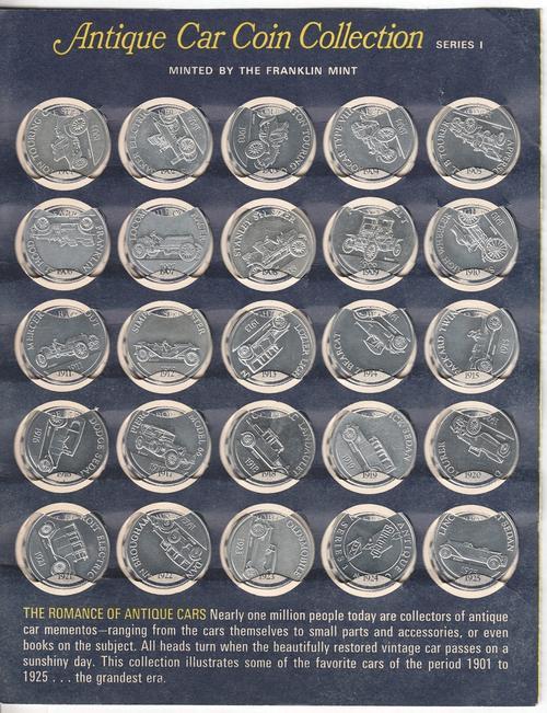 Antique Car Coin Collection Series