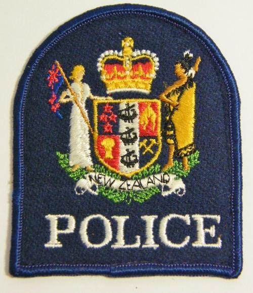 International Badges Amp Insignia  New Zealand Police Cloth