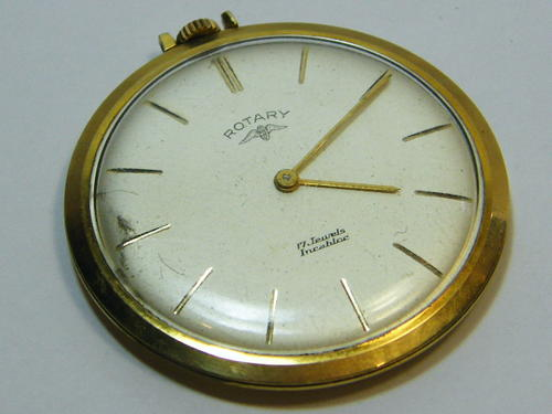 pocket watches vintage rotary pocket working