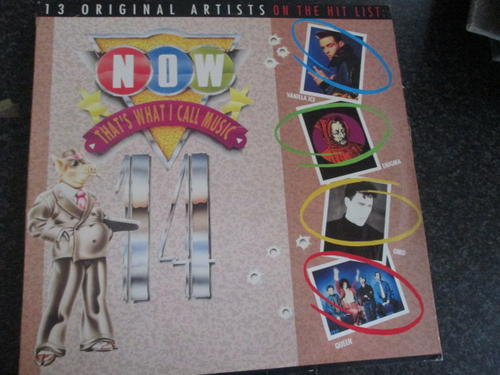 Pop Rock Now Thats What I Call Music 14 Sale Lp Was Sold