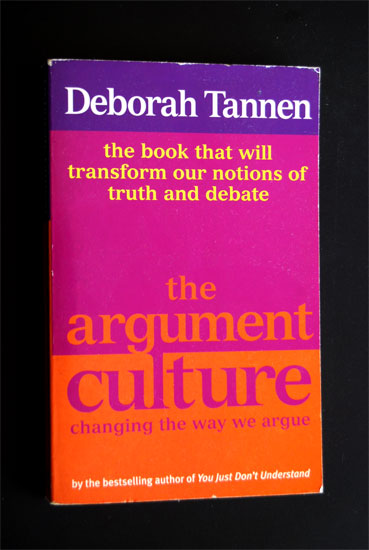 Essay on deborah tannen the argument culture