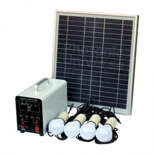 Solar Panels - SOLAR PANEL LIGHT KIT 4 LED LIGHTS was ...
