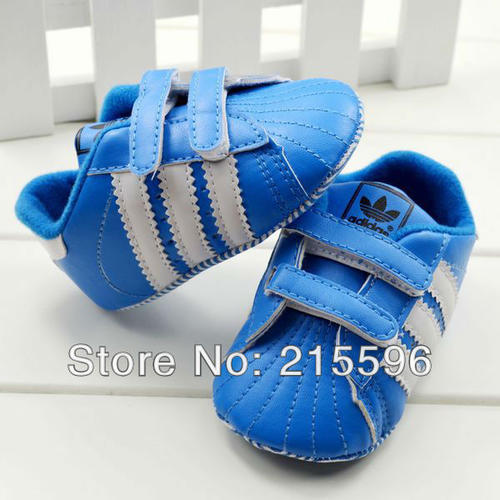 Shoes & Socks Adidas baby footwear BLUE AND WHITE