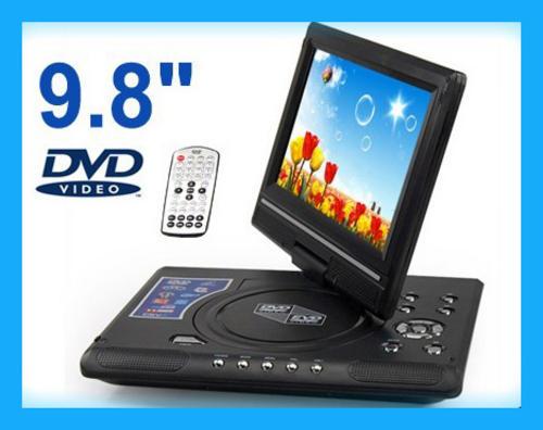 dvd players 9 8 inch swivel portable dvd player evd dvd vcd mp3 mp4 cd jpg player tv game usb. Black Bedroom Furniture Sets. Home Design Ideas