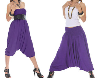 Elegant Gudluk Solid Cotton Women39s Harem Pants Online Shopping India