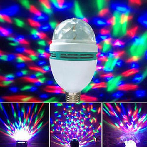 lighting led mini party light rotating led stage light bulb. Black Bedroom Furniture Sets. Home Design Ideas