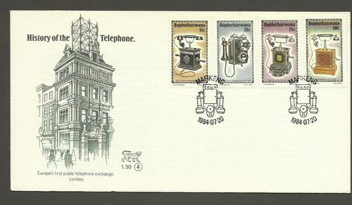 (原创)南非邮票欣赏5:电话的历史2(跳蚤市场的收获) - 六一儿童 - 译海拾蚌