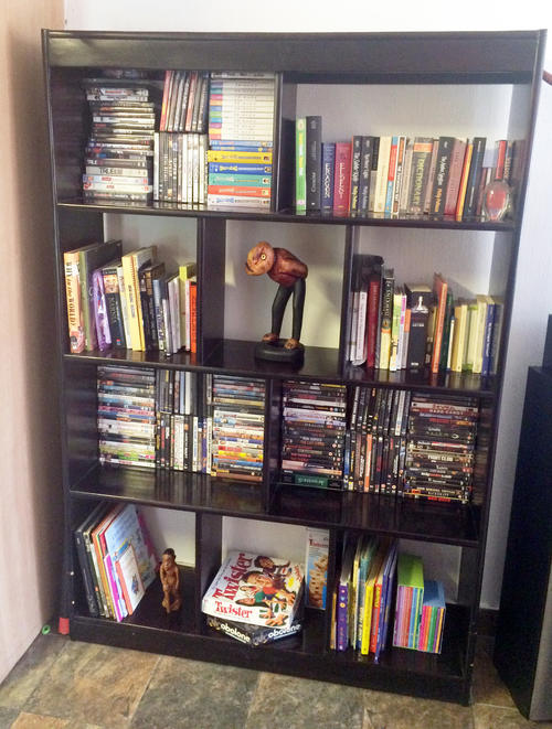 Bookcases Tall Book Shelf Room Divider For Sale In