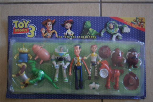 Toy Story Figurines : Other action figures toy story set perfect to use as
