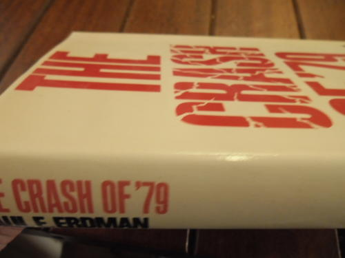 CRASH OF 79 By Erdman Paul Emil - Hardcover **BRAND NEW**