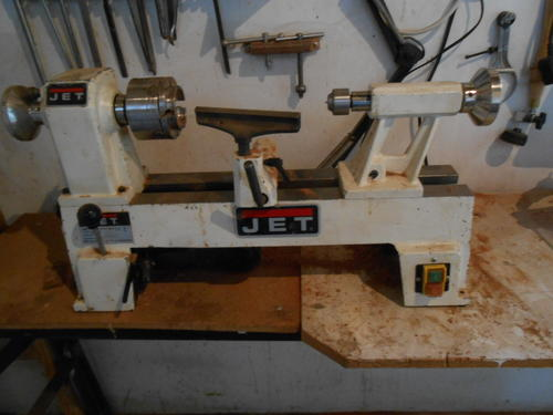 Other Tools Mini Jet 101 Wood Lathe And Chisels Was