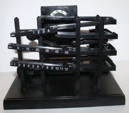 time machine bearing clock