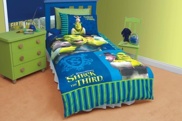 Other Bedding Kids Bed Linen Shrek Duvet Set Single