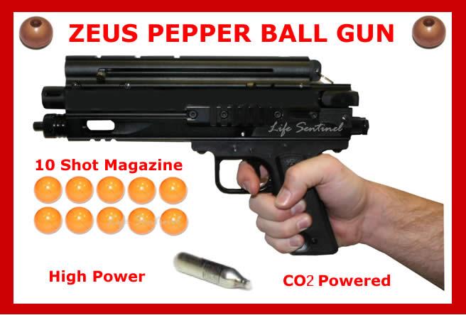 Other Militaria Pepper Gun Kit Zeus G2 Includes Mini