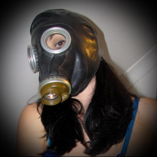 Black Russian Rubber Gasmask (Free Shipping