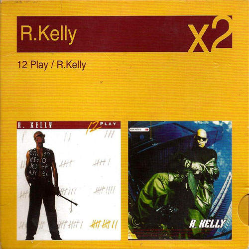 R Kelly 12 Play  2LP 1993 Pappschuber