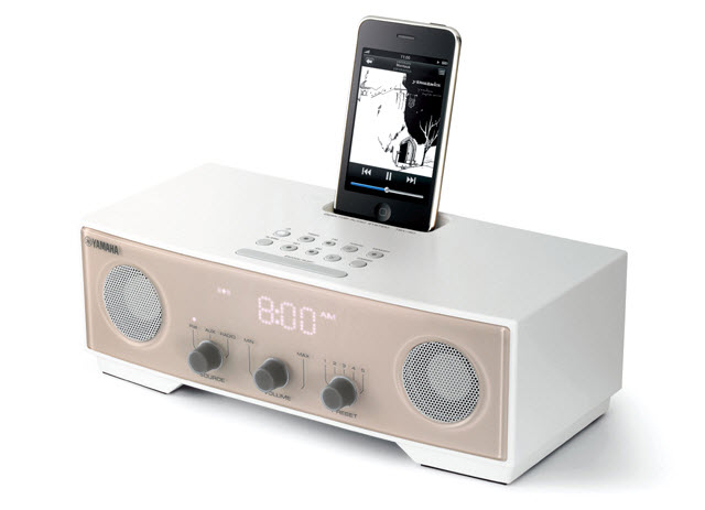 docks cradles yamaha ipod iphone dock and radio alarm clock brand new was sold for r1. Black Bedroom Furniture Sets. Home Design Ideas