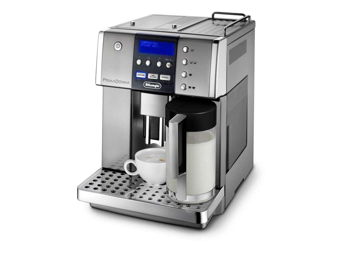 tea coffee makers delonghi primadonna esam6600. Black Bedroom Furniture Sets. Home Design Ideas