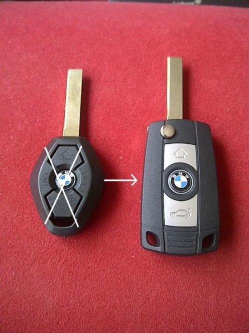 Other Parts & Accessories - BMW 3 Button Flip Key ...
