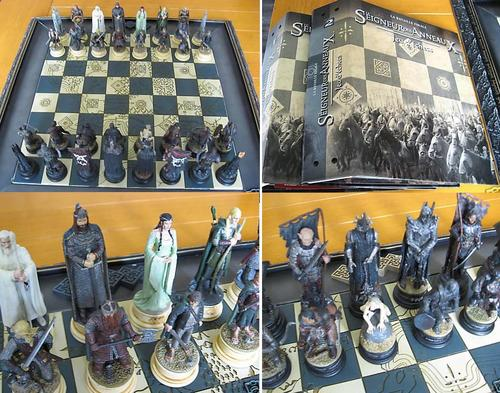 Lord Of The Rings Lord Of The Rings Lotr Chess Set