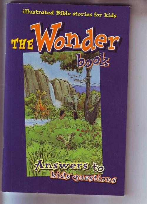Illustrated Book Cover Questions : Other children s baby books the wonder book