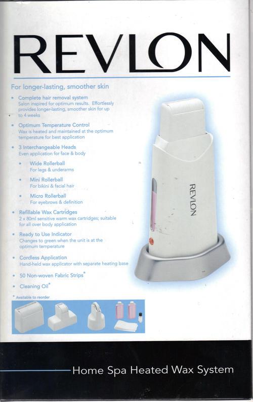 Care Facial Revlon System