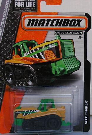 Matchbox Diecast Model 2014 Seed Shaker Farm Agricultural