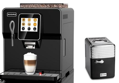 Russell Hobbs Vivace Capsule Coffee Maker And Frother : Tea & Coffee Makers - Rooma One Touch Bean to Cup Coffee Machine plus milk fridge was listed for ...