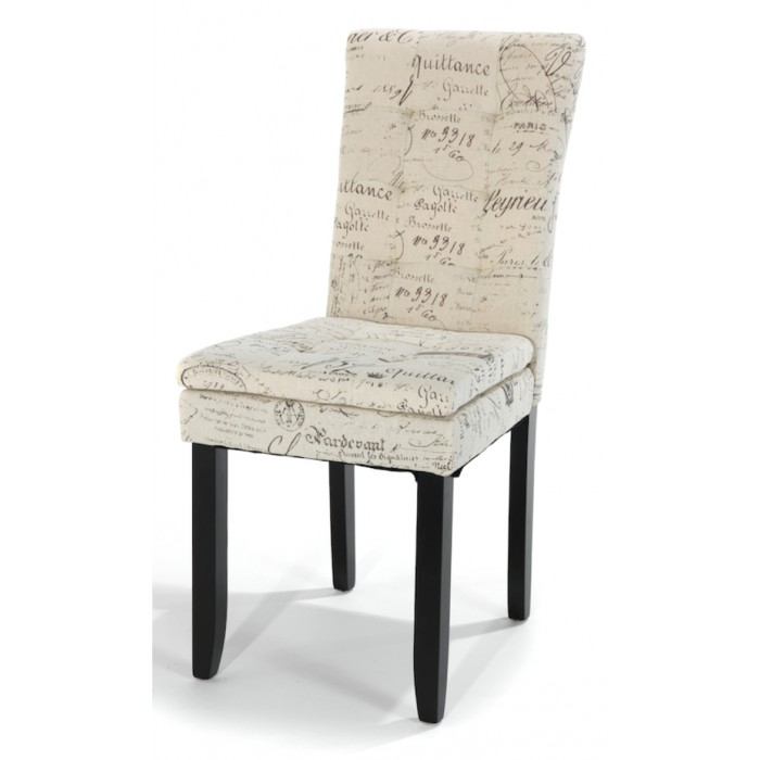 Chairs Stylish Dining Chair French Script for sale in